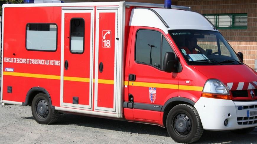 2 blessés graves dans un accident à Etrembières