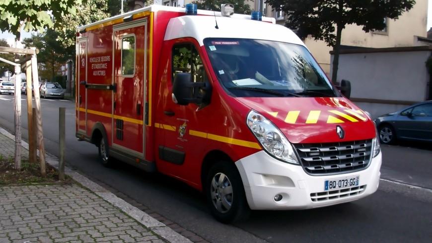 Un grave accident de la route à Saint-Cergues