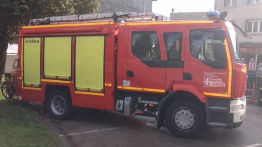 Saint-Jeoire : les pompiers en entrainement