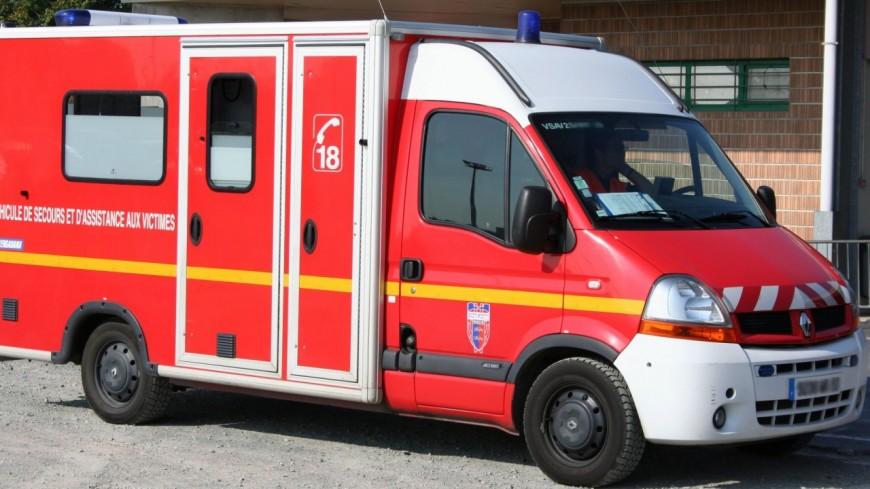 Un blessé grave après un accident à Cranves-Sales