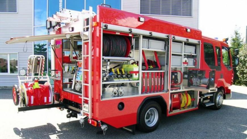 Un incendie à Genève ce lundi matin