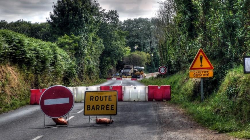 La RD 1508 fermée entre Albertville et Annecy