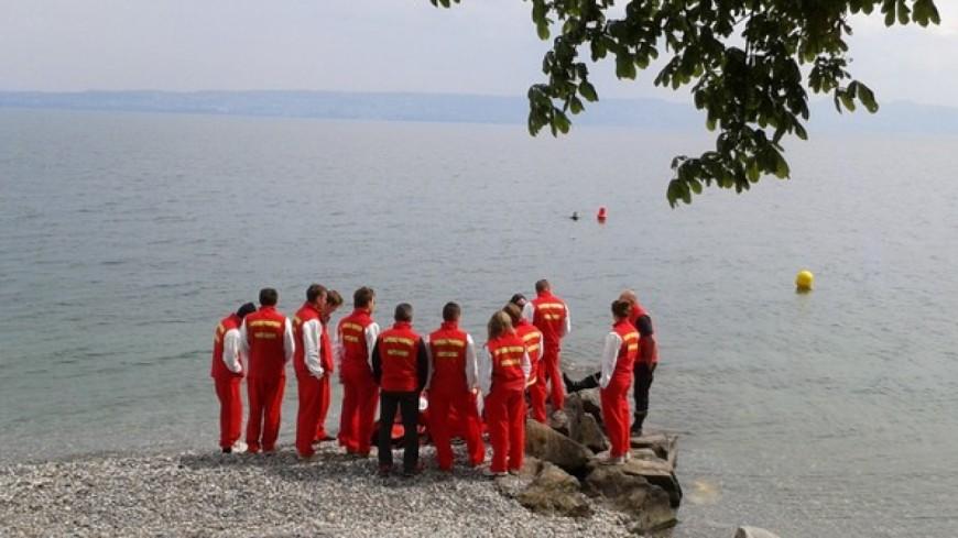 Un homme s'est noyé  au lac de passy