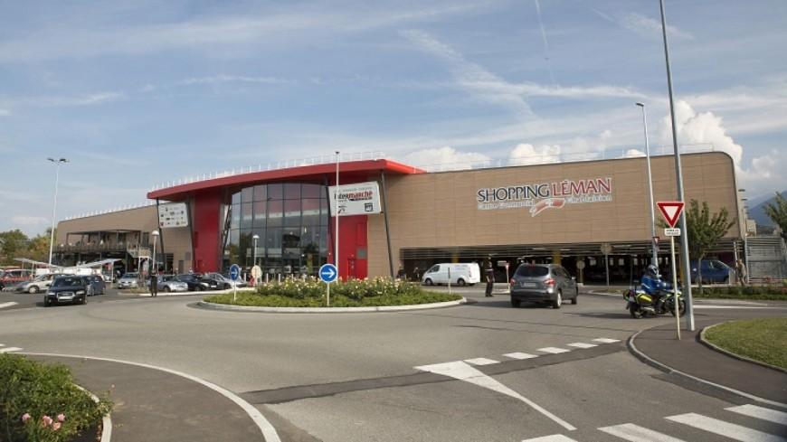 Thonon, braquage à main armée au centre commercial Shopping Léman