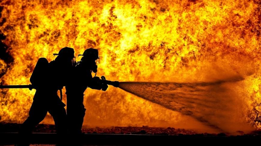 Une grange a pris feu à Marnaz lundi soir