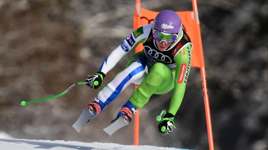 Stuhec championne du monde de descente