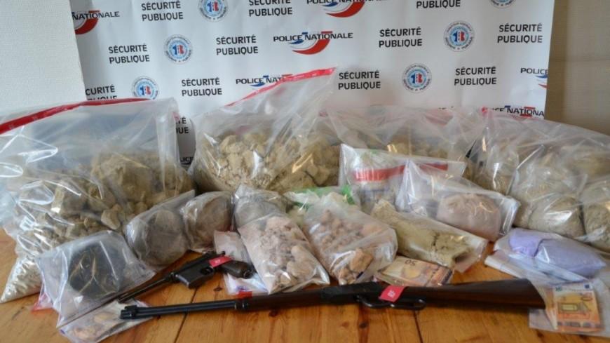 Un trafic de stupéfiants démantelé à Annecy