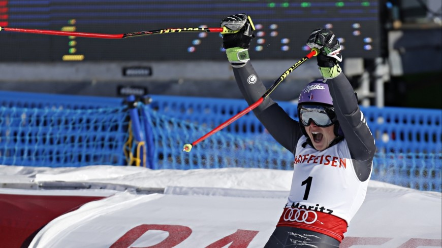 Un podium pour Tessa Worley à Courchevel !