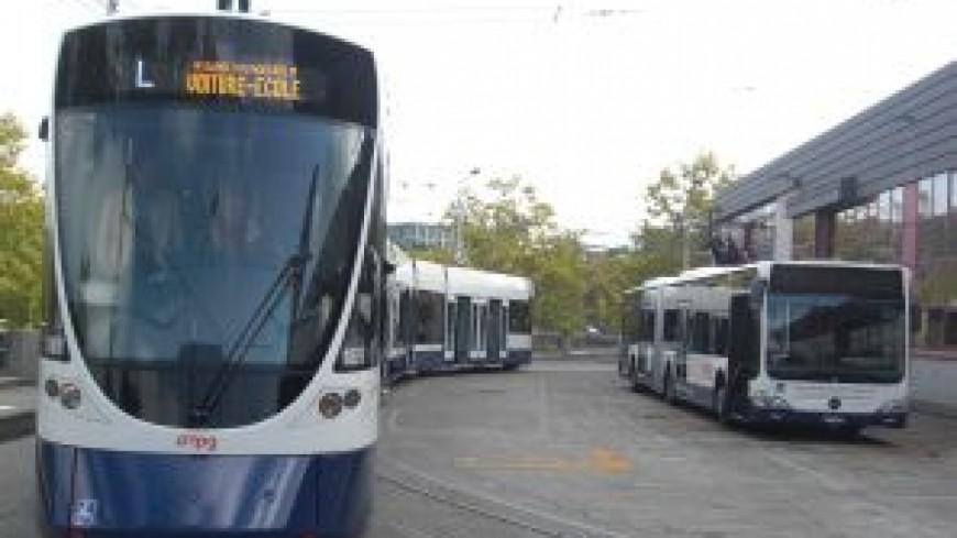 Un accident de tram à Genève vendredi