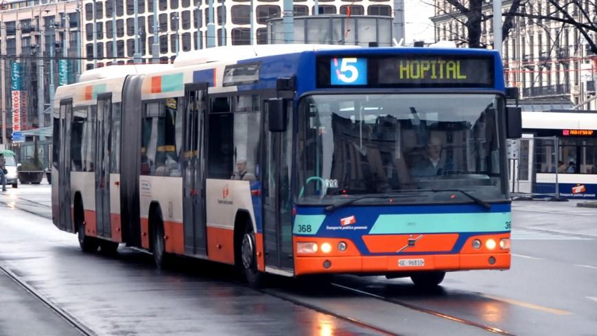 Des bus des TPG circulent à Lausanne