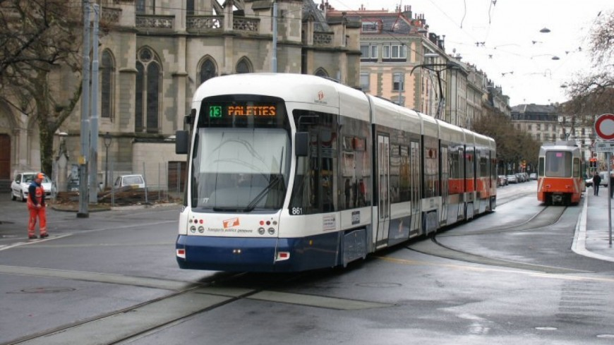 Etape symbolique pour le tram Annemasse-Genève