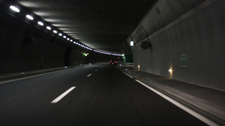 Des travaux de nuit dans le tunnel du Vuache