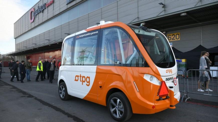 Une ligne de bus autonome à Genève