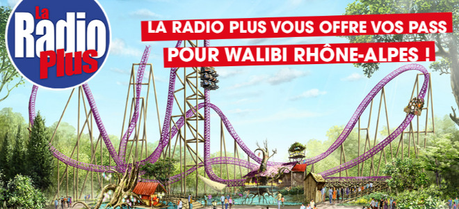 Vos  pass pour Walibi Rhône-Alpes à gagner !