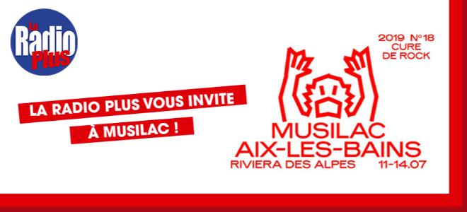 Musilac Aix-les-Bains avec La Radio Plus!
