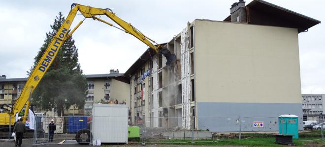 La déconstruction du Crozet lancée à Scionzier