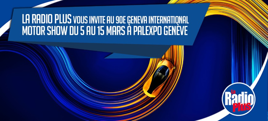 Le Geneva International motor show du 5 au 15 mars !