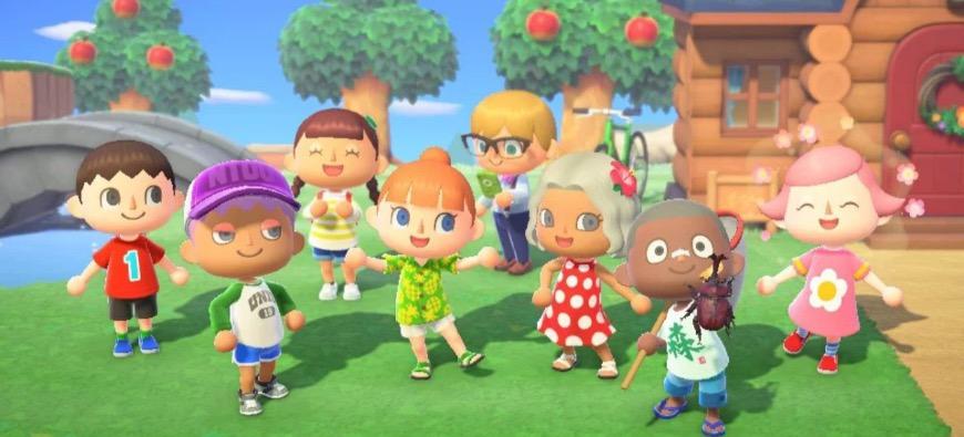 Animal Crossing débarque sur la Swich !