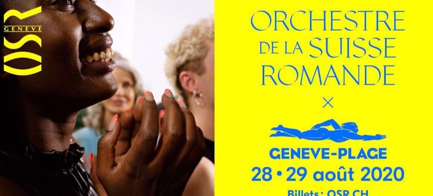 L'OSR lance un nouveau festival à Genève-Plage fin août !