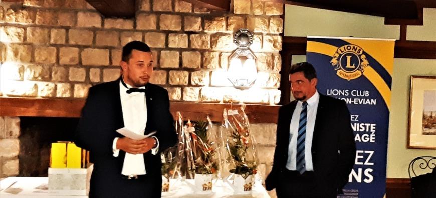 Changement de président au Lions Club Thonon-Evian (Interview)