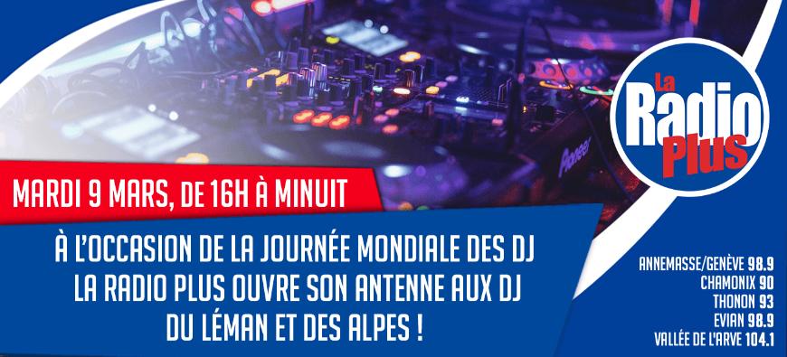 La Radio Plus soutient les dj du Léman et des Alpes !