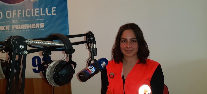 La Croix Rouge collecte des produits d'hygiène en Chablais  (interview)