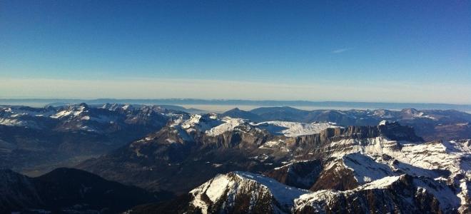 Le Mont-Blanc, terrain de jeu d'un marathon ce week-end
