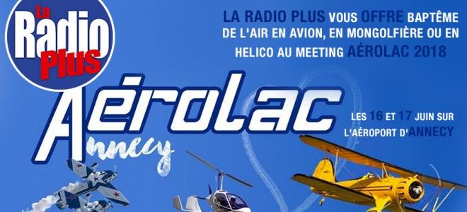 Découvrez Aérolac avec La Radio Plus !