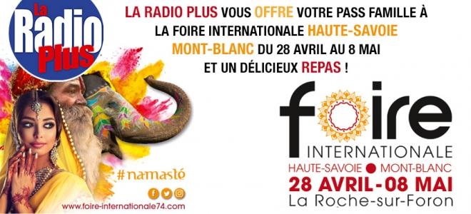 La Radio Plus vous invite à la foire internationale HS-MB