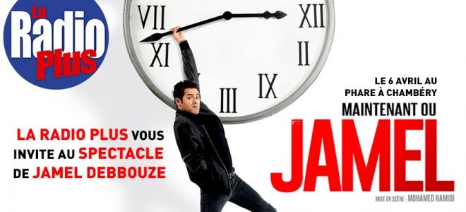 La Radio Plus vous offre le nouveau spectacle de Jamel !