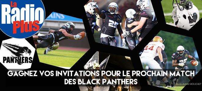 Gagnez vos places pour le Match Black Panthers/Aix en Provence