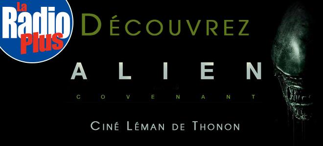 Gagnez vos invitations pour l'AVP: Alien Covenant