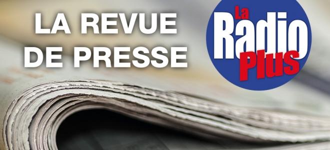 """La revue de presse """"Bleue"""" de ce lundi avec N. Marin"""