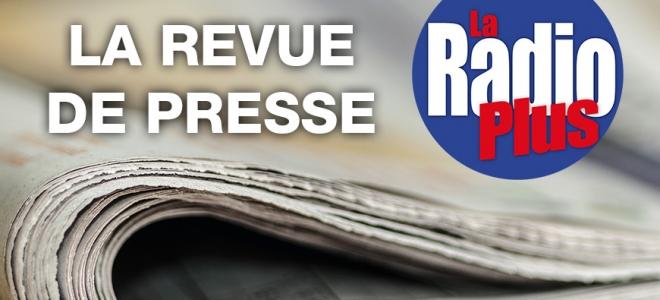 La revue de presse de ce lundi avec Nicolas Marin