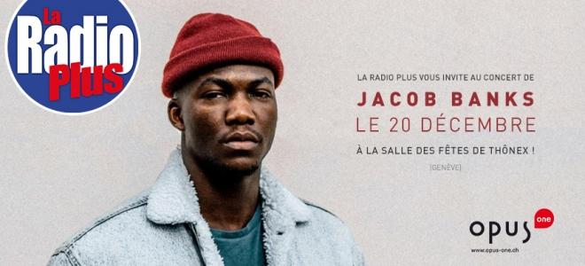 Jacob Banks en concert à Thônex le 20 décembre