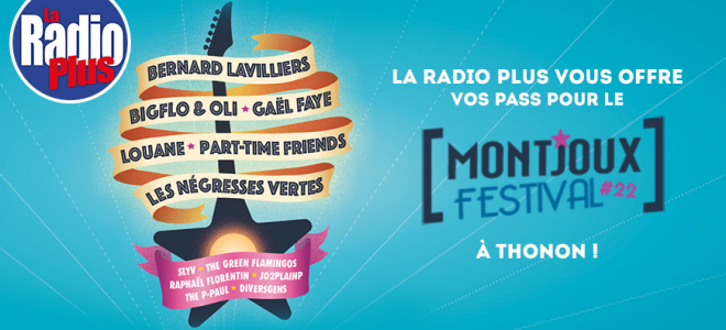 Gagnez vos pass pour le Montjoux Festival à Thonon