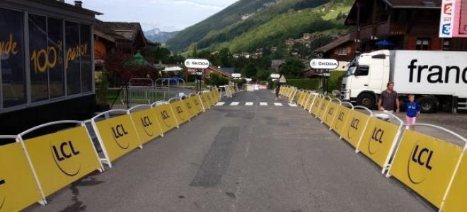 Le Tour de France à Annecy ce lundi