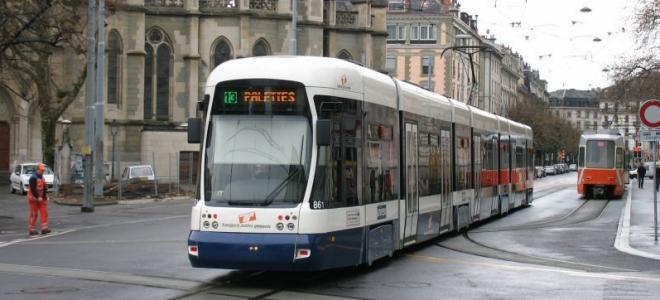 Le tram Genève/Saint-Julien soutenu par Berne